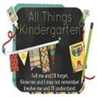 All Things Kindergarten