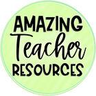 Amazing Teacher Resources