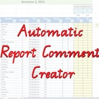 Automatic Report Comment Creator