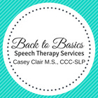 Back to Basics Speech Therapy