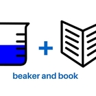 Beaker and Book