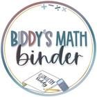 Biddy's Math Binder