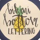 Bikini Bottom Lettering