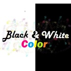 Black and White with a spark of color