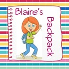 Blaire's Backpack