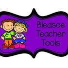 Bledsoe Teacher Tools