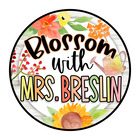 Blossom with Mrs Breslin