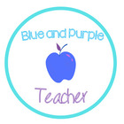 Blue and Purple Teacher
