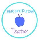 Blue and Purple Teacher