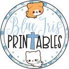 Blue Iris Printables