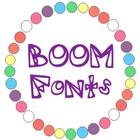 BOOM fonts