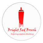 Bright Red Brush