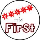 Burst into First