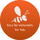 Busy Bee Worksheets for Kids