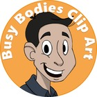 Busy Bodies Clip Art