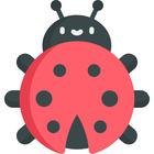 Busy ladybug