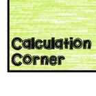 Calculation Corner