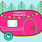 Camping in Kindergarten