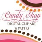 Candy Shop Digital Art