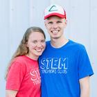 Carly and Adam STEM