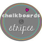 Chalkboards and Stripes