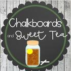 Chalkboards and Sweet Tea