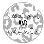 Cheetah Print and Checklists