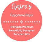 Claire's Classroom Helps