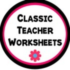 Classic Teacher Worksheets