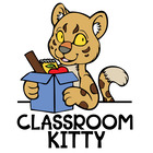 Classroom Kitty and Jennifer Ward