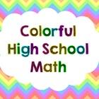 Colorful High School Math