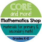 Core and More Mathematics Shop