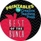 Creative Teaching Press Printables