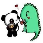 Dino and Panda
