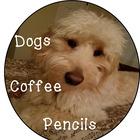 Dogs Coffee Pencils