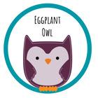 Eggplant Owl