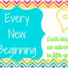 Every New Beginning Blog Loves2Teach