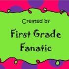 First Grade Fanatic