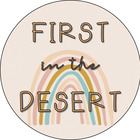 First in the Desert