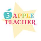 Five Apple Teacher