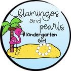 Flamingos and Pearls Kindergarten Girl