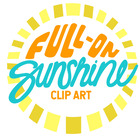 Full-On Sunshine Clip Art