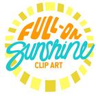 Full-On Sunshine Clip Art
