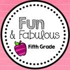 Fun and Fabulous Fifth Grade