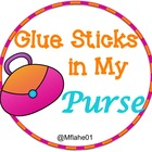 Glue Sticks in My Purse