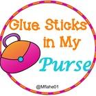 Glue Sticks in My Purse