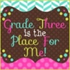Grade 3 is the Place For Me