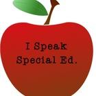 I Speak Special Ed