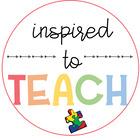 InspiredToTeach by Miss Clark