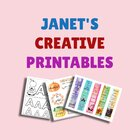 Janet's Educational Printables